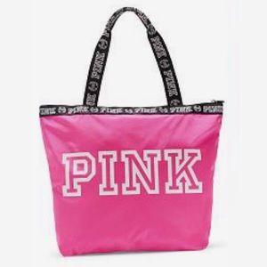 Plum VS PINK Travel Tote Bag